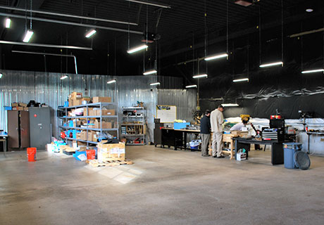 RPMTech Facilities Prototype Shop