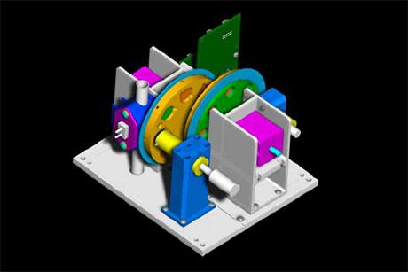 RPMTech Mechanical Engineering Free Space Optics Concept