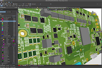 RPMTech - PCB CCAs Layout of circuit card with 900 pin FPGA