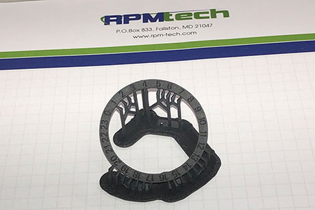 RPMTech Prototype Custom Watch Dial Printed