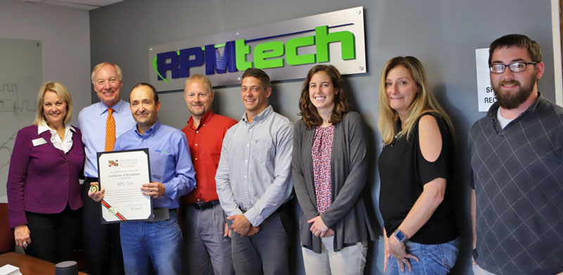 RPMTech Staff with Maryland State Comptroller Peter Francho