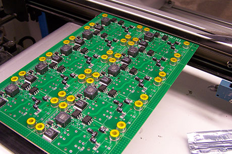 RPMTech Manufacturing Transition Boards on Surface Mount Conveyor